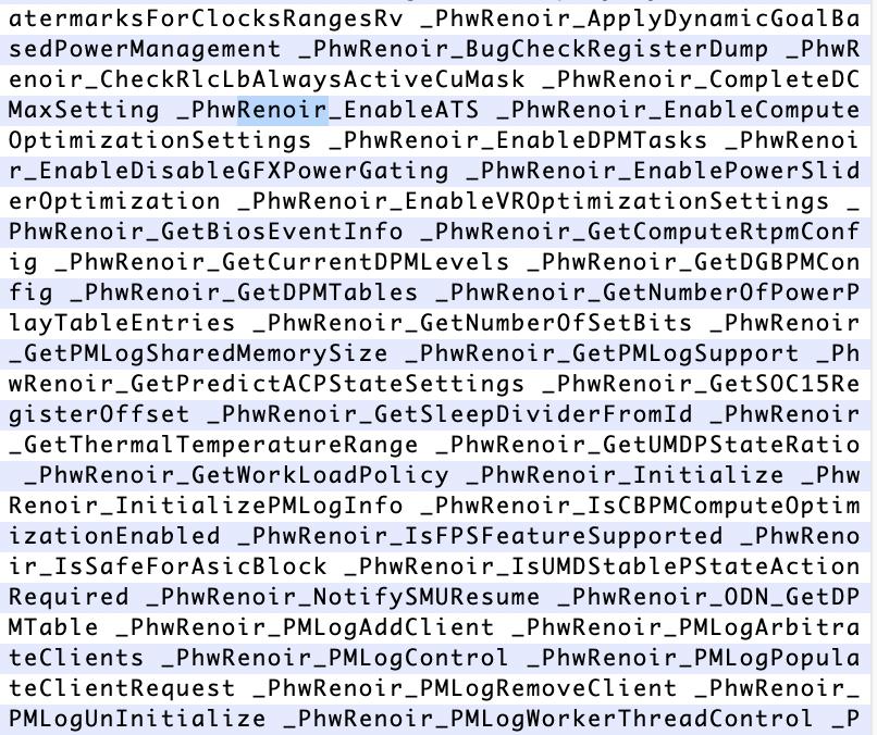 В коде бета-версий macOS нашли упоминания процессоров AMD - 5