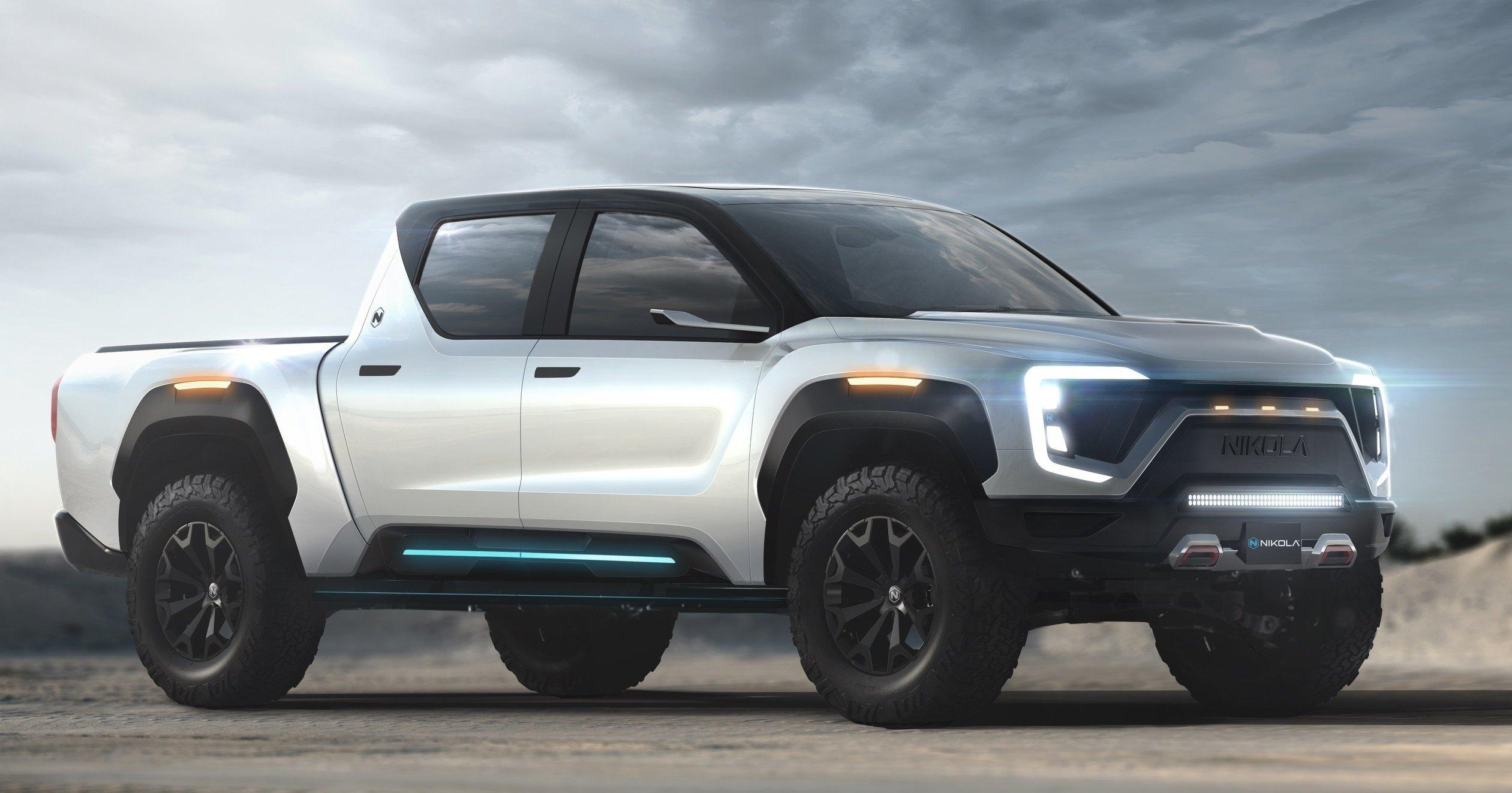 Nikola Motors представила водородно-электрический пикап