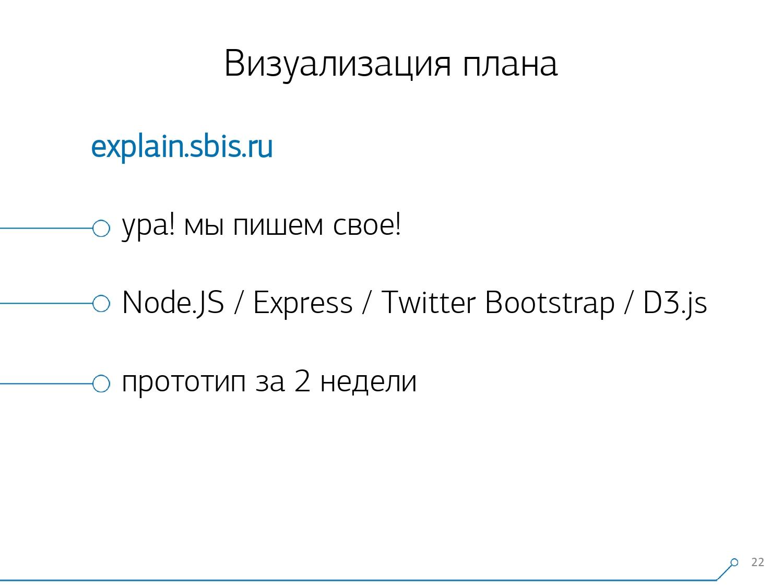 Массовая оптимизация запросов PostgreSQL. Кирилл Боровиков (Тензор) - 10