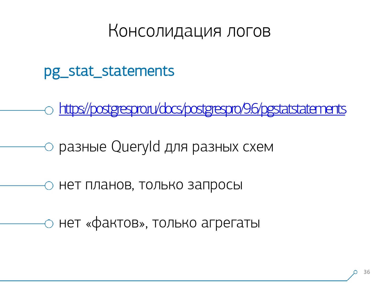 Массовая оптимизация запросов PostgreSQL. Кирилл Боровиков (Тензор) - 18