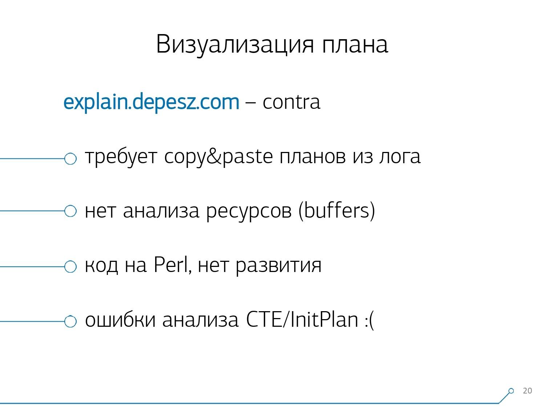 Массовая оптимизация запросов PostgreSQL. Кирилл Боровиков (Тензор) - 8