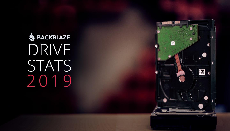 Backblaze — статистика жестких дисков за 2019 - 1