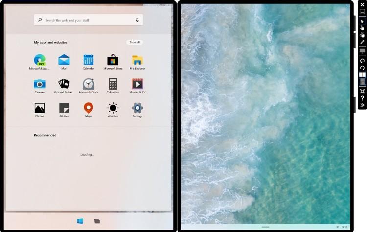 Microsoft выпустила эмулятор Windows 10X для будущих компьютеров с двойным экраном Surface Neo - 2