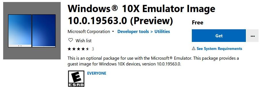 Microsoft выпустила эмулятор Windows 10X для будущих компьютеров с двойным экраном Surface Neo - 1
