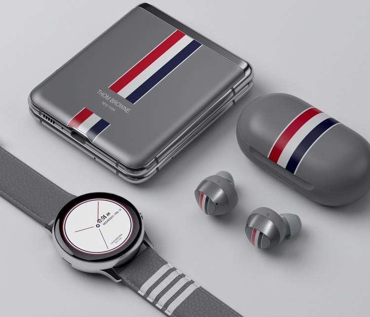 Samsung представила «модный» смартфон Galaxy Z Flip Thom Browne Edition