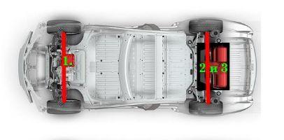 Tesla Plaid. Два варианта трехмоторной компоновки электропривода - 7