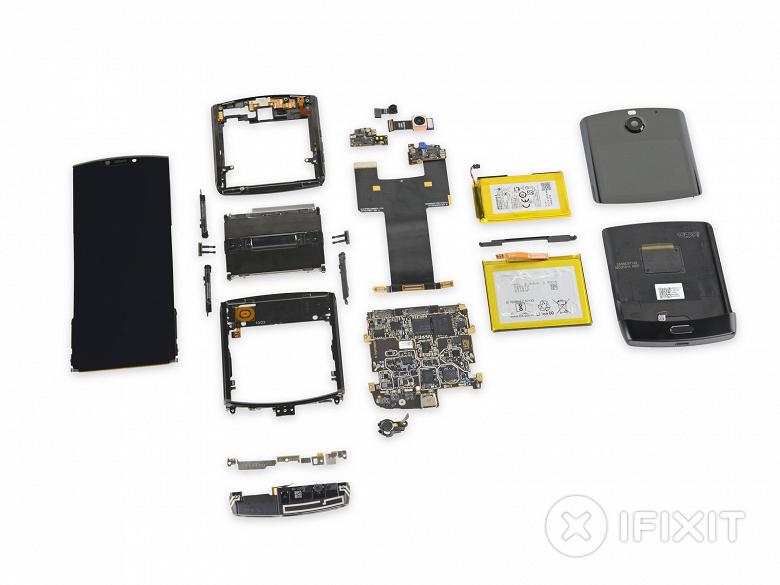 1 из 10. Новый Motorola Razr 2019 провалил тест на ремонтопригодность