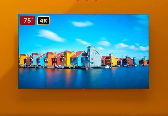 75-дюймовый телевизор Xiaomi подешевел почти вдвое в Китае