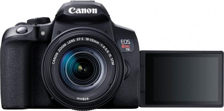 Canon представила зеркалку 850D с обновлённым автофокусом и видео 4K