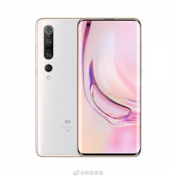 Xiaomi Mi 10 Pro впервые позирует в белом цвете