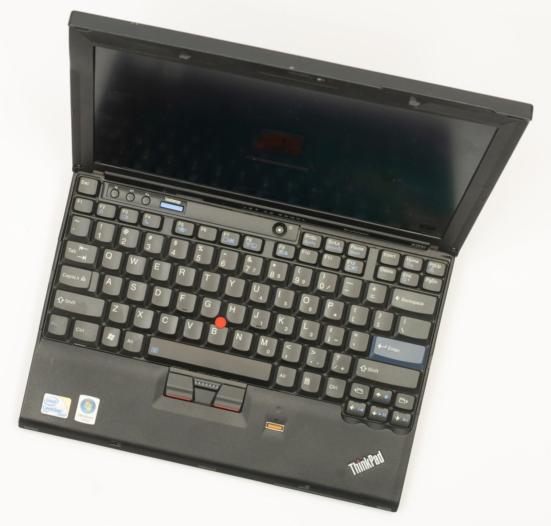 Древности: ThinkPad X200 и закрытые исходники - 29