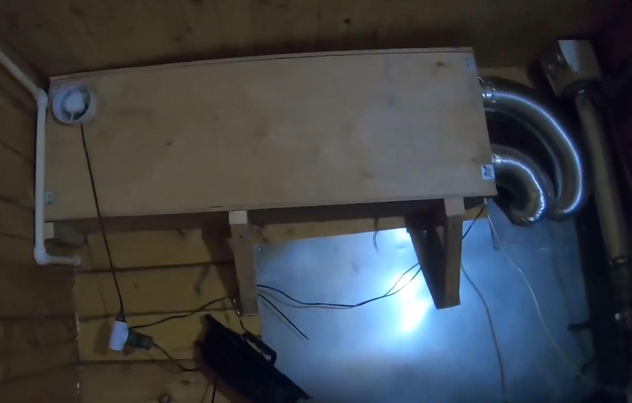 Самодельный рекуператор для загородного дома с КПД 80% - 8