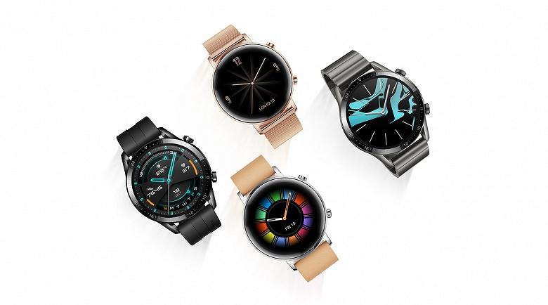 Стартовали продажи премиальных умных часов Huawei Watch GT 2 в России