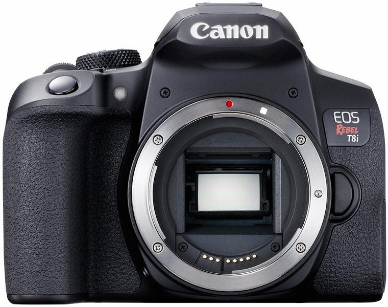 Зеркальная камера Canon EOS 850D позволяет снимать видео 4К