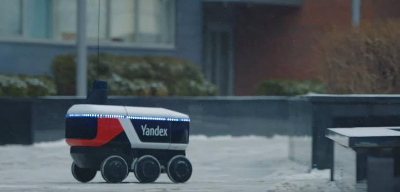 Роботы Яндекса начали доставлять товары