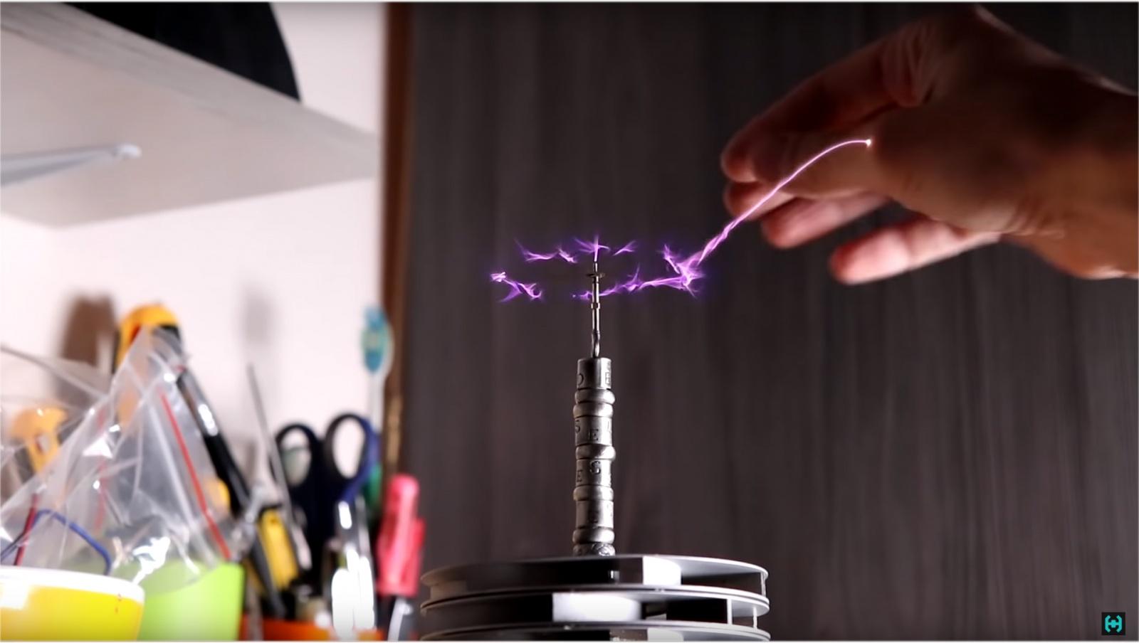 Ламповая катушка Теслы - 15