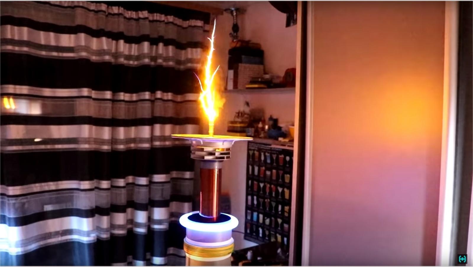 Ламповая катушка Теслы - 22