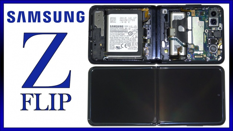 Samsung Galaxy Z Flip оказался вполне ремонтопригодным