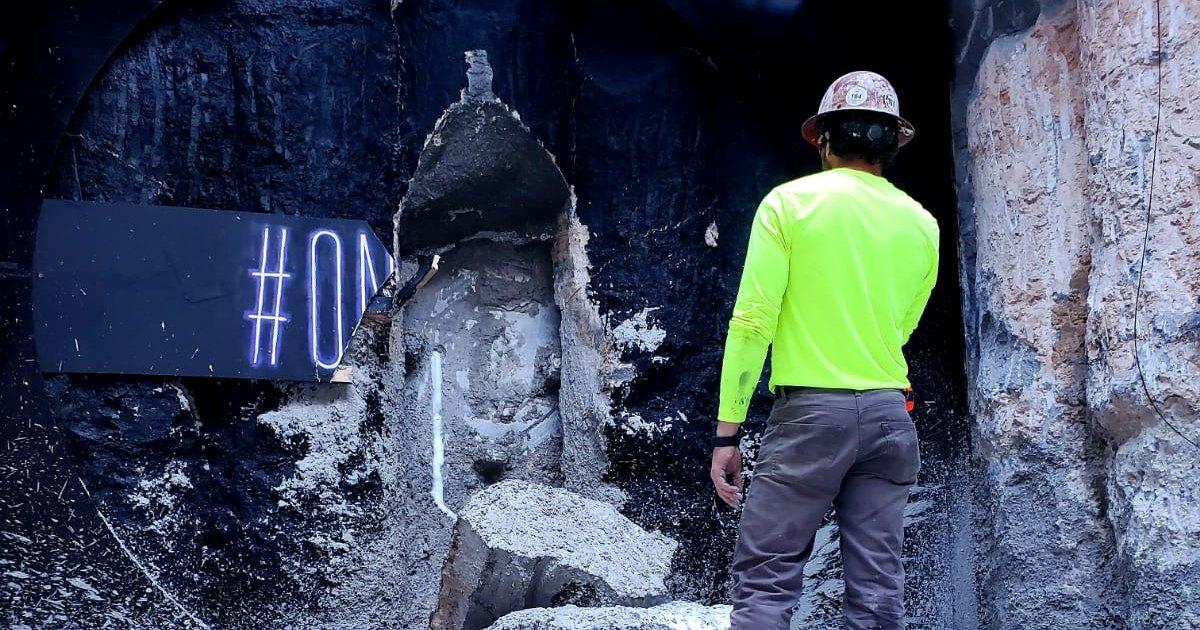 The Boring Company прорыла первый тоннель в Лас-Вегасе