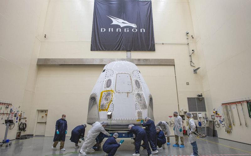 Корабль Crew Dragon доставили на мыс Канаверал - 2