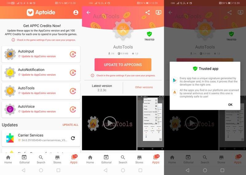 Альтернативу Google Play уличили в мошенничестве с приложениями