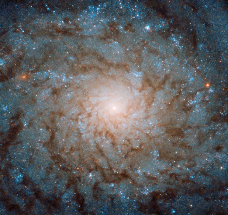 Фото дня: галактическая «клякса»