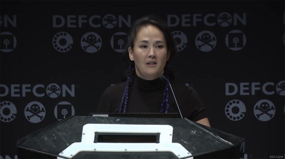 Конференция DEFCON 27. Признание интернет-мошенницы - 12