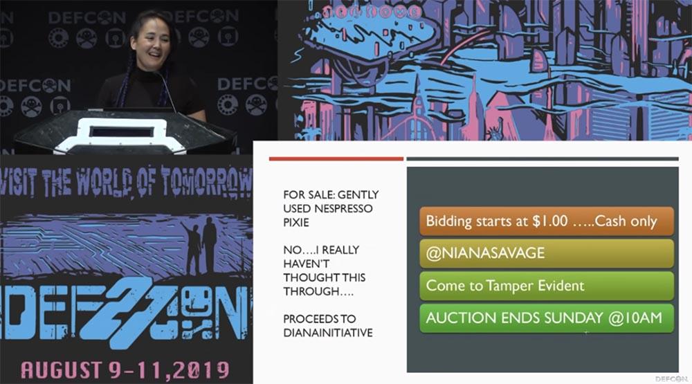 Конференция DEFCON 27. Признание интернет-мошенницы - 13