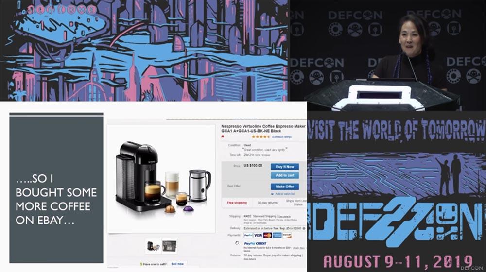 Конференция DEFCON 27. Признание интернет-мошенницы - 8