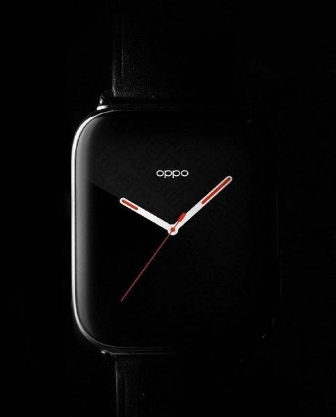 Умные часы Oppo с датчиком ЭКГ и функцией звонков на официальном изображении