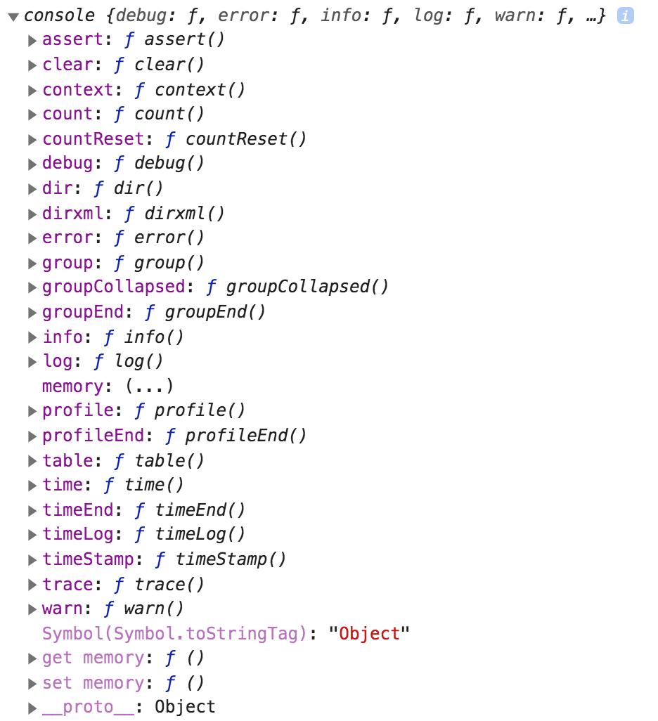 console.log не является частью JavaScript - 2