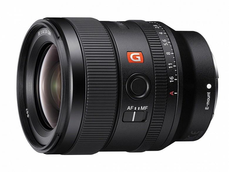 Объективу Sony 20mm f 1.8 G FE приписывают двухрежимное кольцо управления диафрагмой - 1