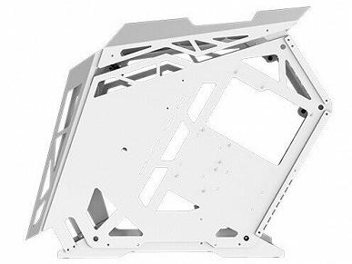 Открытый корпус Xigmatek Zeus Arctic окрашен в белый цвет