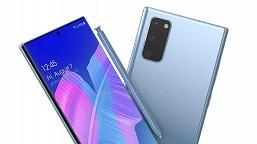 Вот так могут выглядеть Samsung Note20, Note20+ и Note20 Ultra