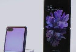Samsung показал производство нового складного смартфона