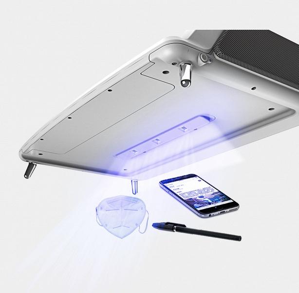 Xiaomi предлагает подставку для монитора, которая простерилизует ваши гаджеты