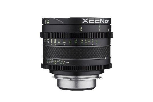 Компания Rokinon анонсировала объективы Xeen CF 16mm T2.6 и 35mm T1.5