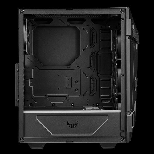 Корпус Asus TUF Gaming GT301 укомплектован вешалкой для наушников