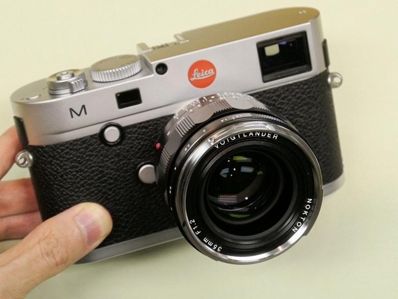 Объектив Voigtlander Nokton 35mm f/1.2 Aspherical III весит на 30% меньше предшественника