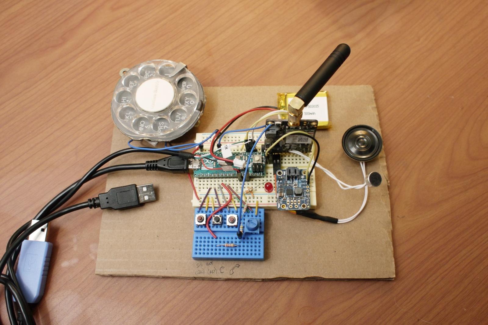 Сотовый телефон с дисковым номеронабирателем - 2