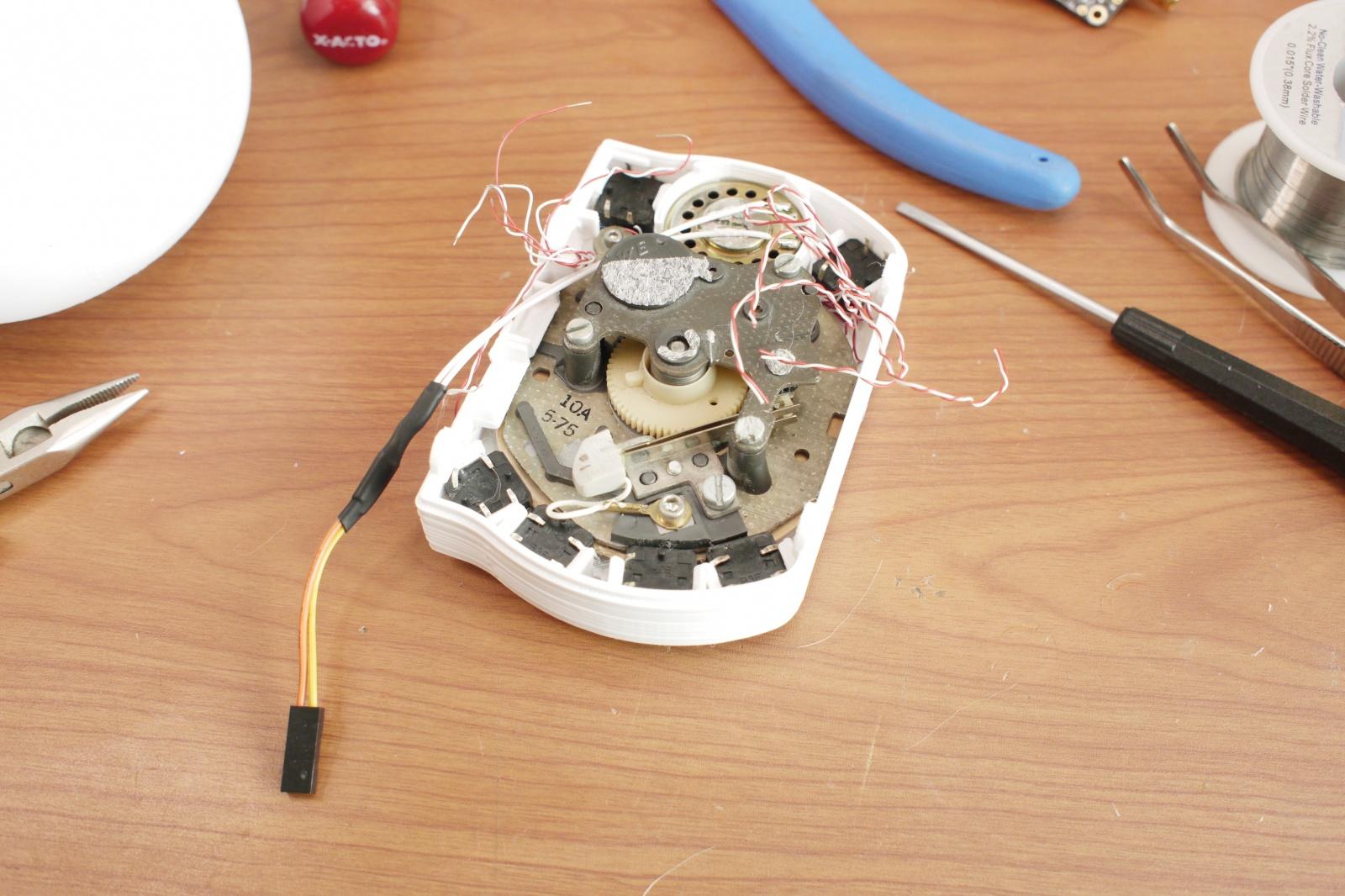 Сотовый телефон с дисковым номеронабирателем - 3