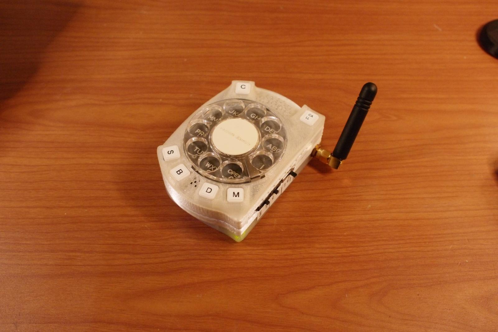 Сотовый телефон с дисковым номеронабирателем - 5
