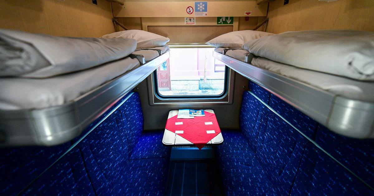 В поездах