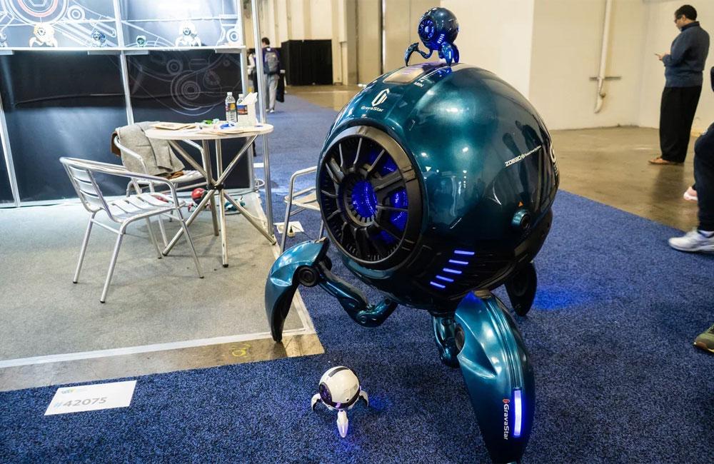 Безумные роботы в Вегасе. Поездка на CES 2020 - 1