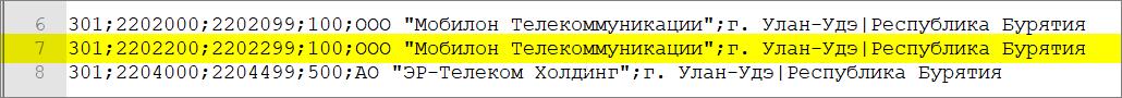 Как определить оператора и регион по номеру телефона - 5