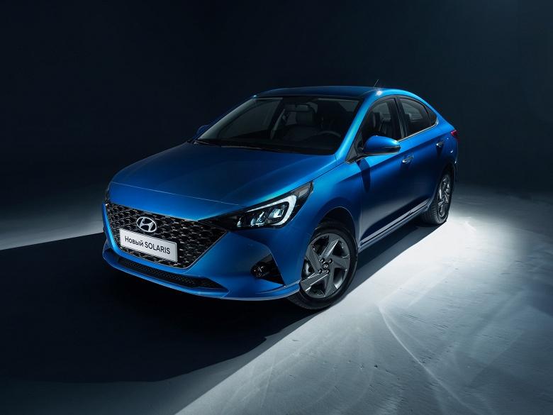 Объявлены российские цены на обновленный Hyundai Solaris