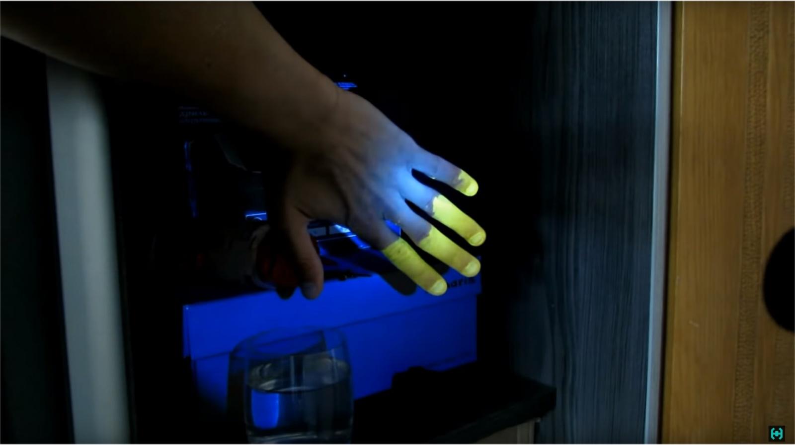 Ультрафиолет на двух пальцах - 21