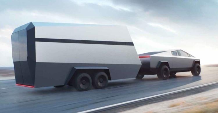 Tesla Cybertruck получит высокотехнологичный интерфейс для упрощения буксировки грузов