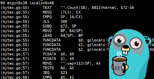 Что нужно знать, если вы хотите вызывать Go функции из ассемблера - 1