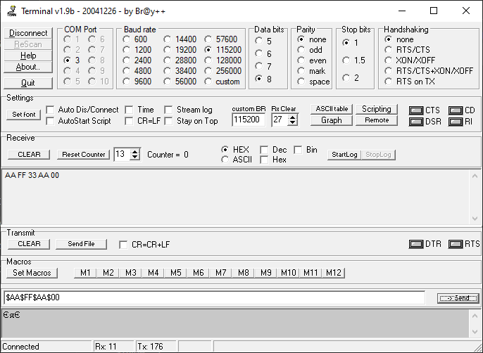 Отладка микроконтроллеров ARM Cortex-M по UART Часть 2 - 1